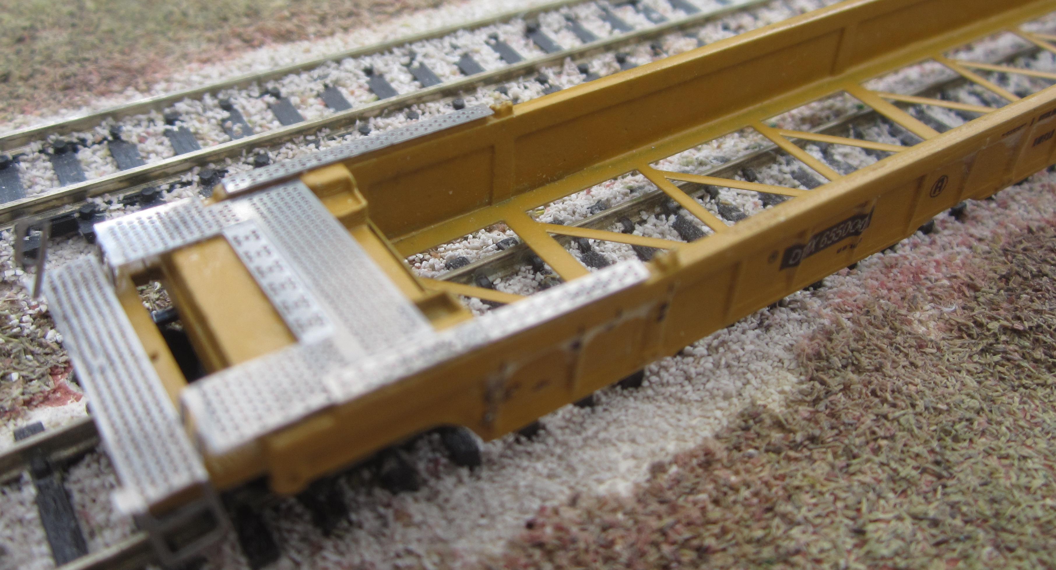 N Scale Kits National Steel Nwf13 53 Foot Cars