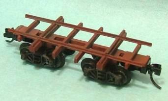 N Scale Kits 25 Log Spine Cars