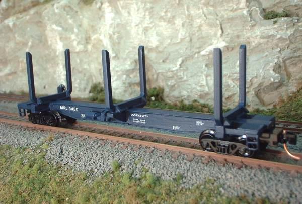 N Scale Kits 48 Log Bunk Spine
